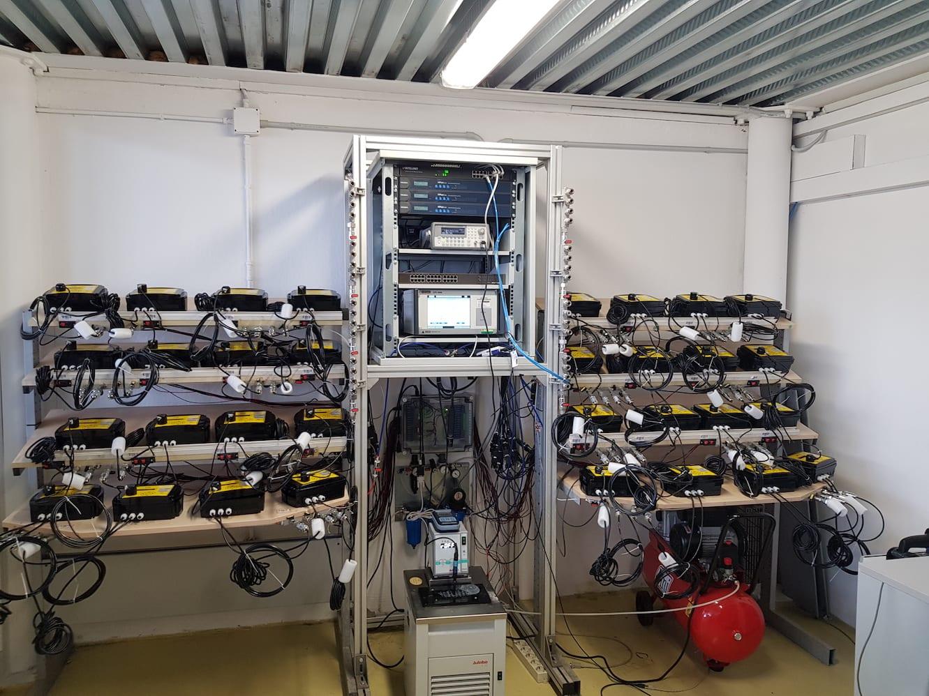 Laboratorio metrologico TECLAB FAST