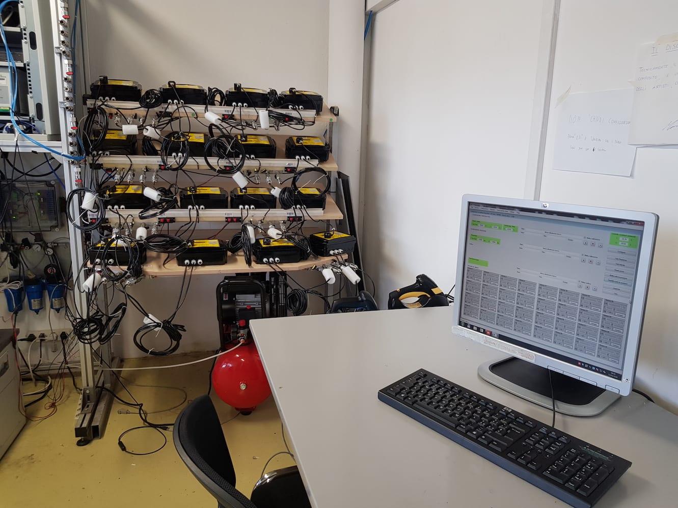 laboratorio metrologico gruppo FAST scandiano TECLAB